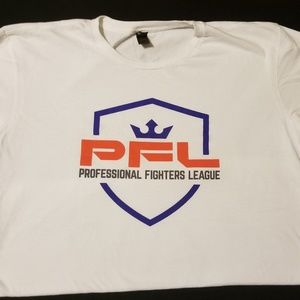 Professional fighters league shield t shirt